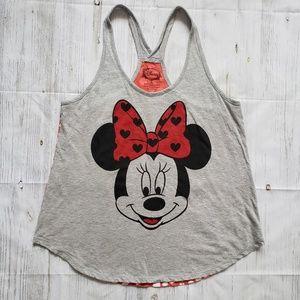 Disney Minnie Mouse Racer back top Size XL NWOT